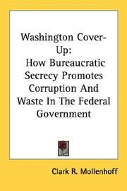 Washington cover-up by Clark R. Mollenhoff