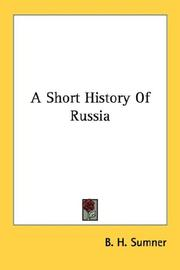 A Short History Of Russia PDF