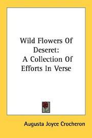Wild Flowers Of Deseret PDF