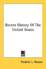 Recent History Of The United States PDF