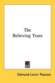 The believing years PDF