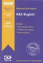 KS3 English : national test papers