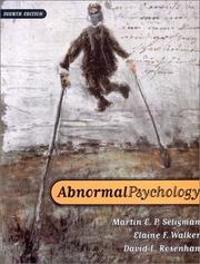 Abnormal Psychology, Fourth Edition W/CD PDF