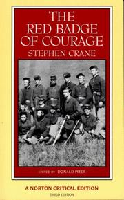 The Red Badge of Courage by Stephen Crane, Crane, Stephen