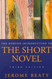 Norton Introduction to the Short Novel PDF