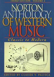 Norton Anthology of Western Music PDF