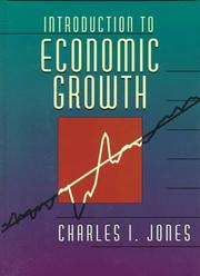 Introduction to economic growth by Charles I. Jones