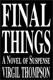 Final Things PDF
