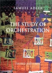 Study of Orchestration PDF