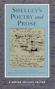 Shelley's poetry and prose PDF