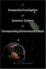 A Comparative Investigation of Economic Systems & Corresponding Environmental Effects PDF