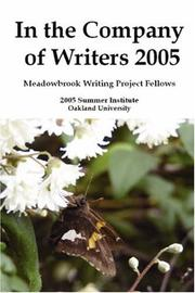 In the Company of Writers 2005 PDF