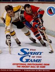 The Spirit Of The Game .. Exceptional Photographs From the Hockey Hall Of Fame PDF