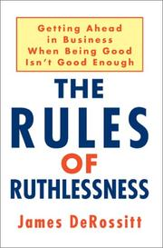 The Rules of Ruthlessness PDF