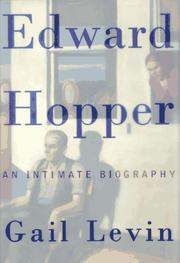Cover of: Edward Hopper by Gail Levin