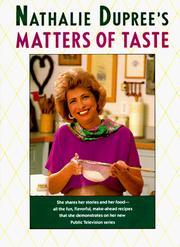 Nathalie Dupree's matters of taste PDF
