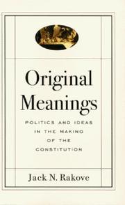 Original Meanings PDF
