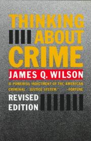 Thinking about crime PDF