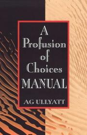 A Profusion of Choices PDF