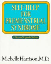 Self-help for premenstrual syndrome by Michelle Harrison