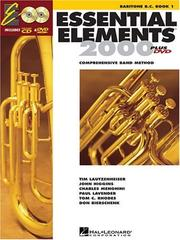 Essential Elements 2000, Book 1 Plus DVD PDF