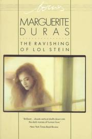 Ravissement de Lol V. Stein by Duras, Marguerite.