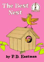 The Best Nest (Beginner Books(R)) by P.D. Eastman