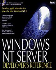 Windows Nt Server Developer's Reference PDF