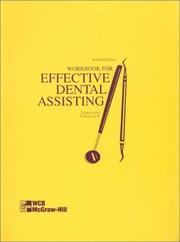Workbook To Accompany Effective Dental Assisting PDF