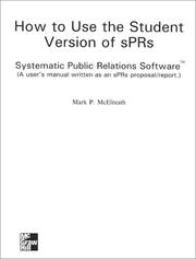 User's Guide For Systematic Public Relations Software/ '' 'IBM 3.5 & Mac to accomapny Managing Systematic And Ethical Public Relations PDF