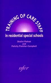 Training of Care Staff in Residential Special Schools PDF