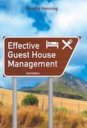 Effective Guest House Management PDF