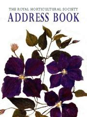The Royal Horticultural Society Address Book PDF