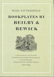 Bookplates by Beilby & Bewick by Nigel Tattersfield
