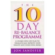 The 10 day re-balance programme by Jon Sandifer