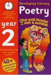 Developing literacy : poetry : reading and writing activities for the literacy hour