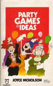 Party Games and Ideas PDF