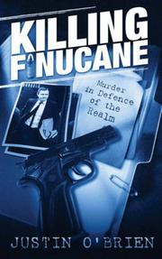 Killing Finucane by Justin O&#39;Brien