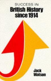 Success in British History Since 1914 (Success Studybooks) PDF