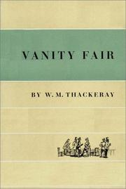 Cover of: Vanity Fair   Part 1 Of 2 by William Makepeace Thackeray