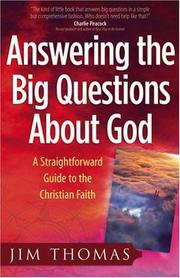 Answering The Big Questions About God PDF