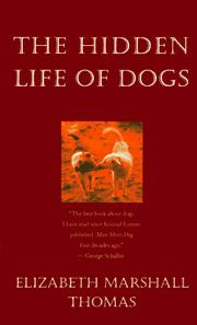 The hidden life of dogs PDF