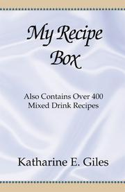 My Recipe Box PDF