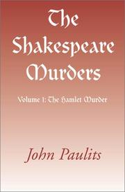 The Shakespeare Murders PDF