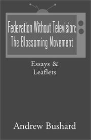 Federation Without Television PDF