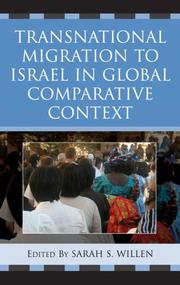 Transnational Migration to Israel in Global Comparative Context PDF