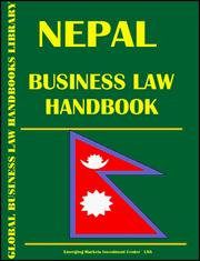 Nepal Business Law Handbook