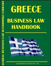 Greece Business Law Handbook PDF