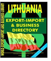 Lithuania Export-Import and Business Directory PDF