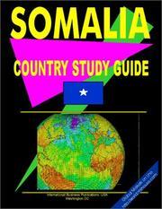 Somalia Country Study Guide PDF